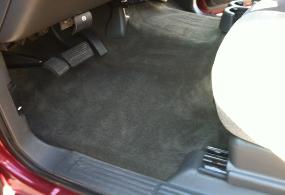 chevy 1500 driver floor after detailing