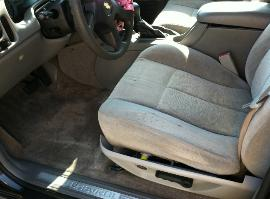 trailblazer driver seat & floor after detailing